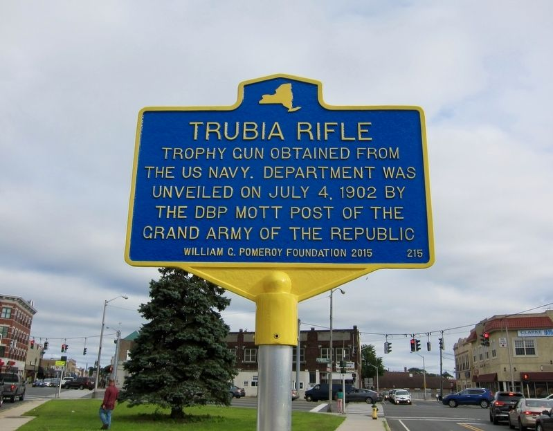 Trubia Rifle Marker image. Click for full size.