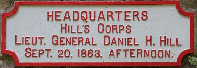 Hill's Headquarters Shell Monument Marker image. Click for full size.