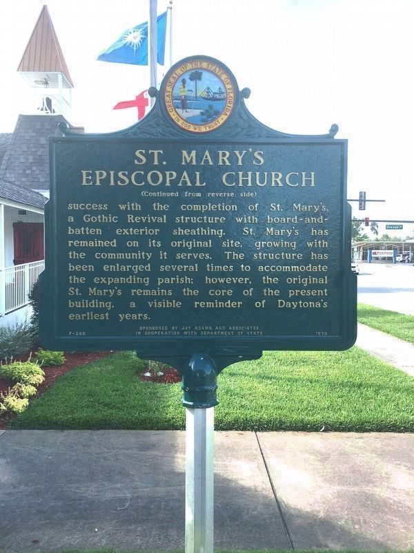 St. Mary's Episcopal Church reverse image. Click for full size.