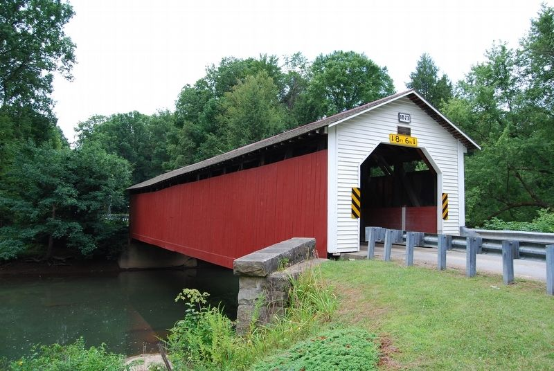 McGee's Mills Covered Bridge image. Click for full size.