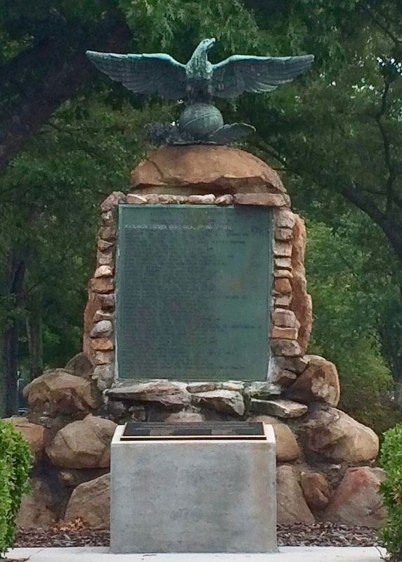 Calhoun County World War I Memorial	 image. Click for full size.