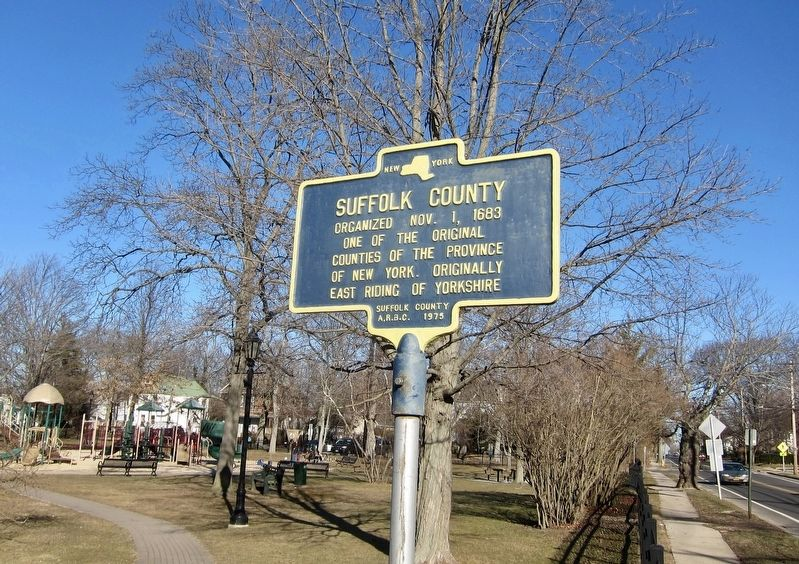 Suffolk County Marker image. Click for full size.