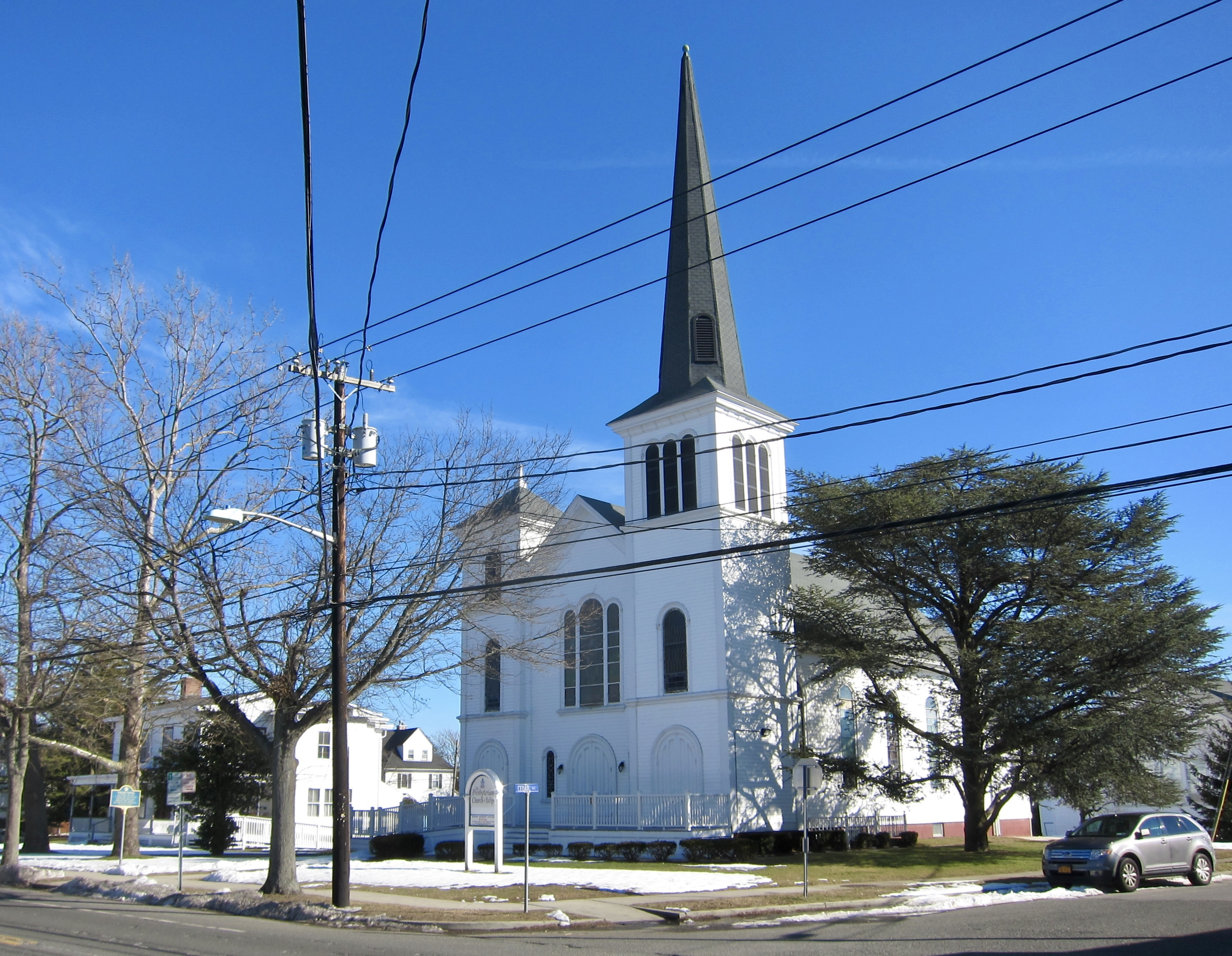 Presbyterian Church and Marker