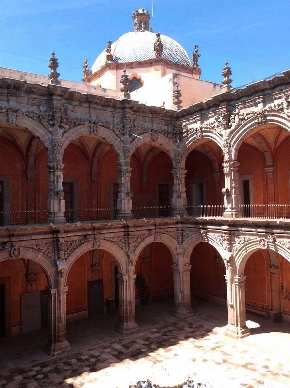 An interior view of the Old Convent of San Agustin image. Click for full size.