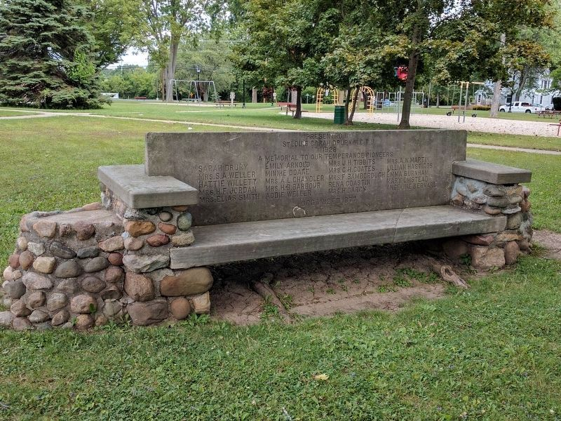 Temperance Bench image. Click for full size.