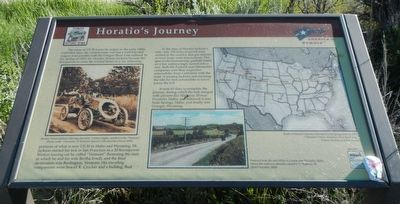 Horatio's Journey Marker image. Click for full size.