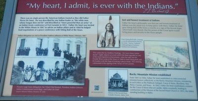 """My heart, I admit, is ever with the Indians."" image. Click for full size."