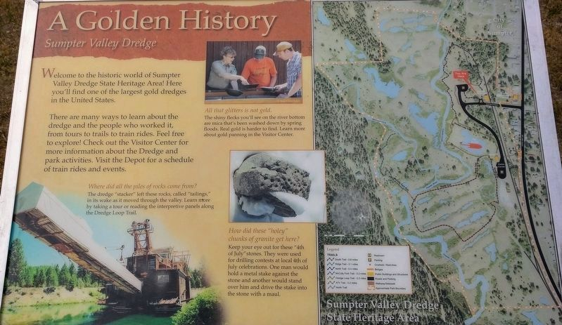 A Golden History Marker image. Click for full size.