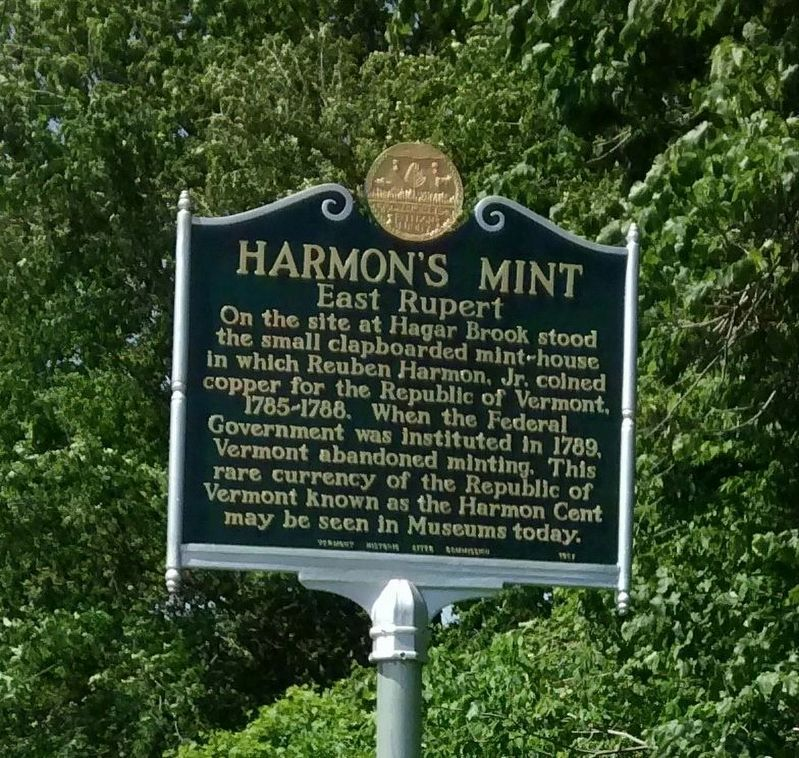 Harmon's Mint Marker image. Click for full size.