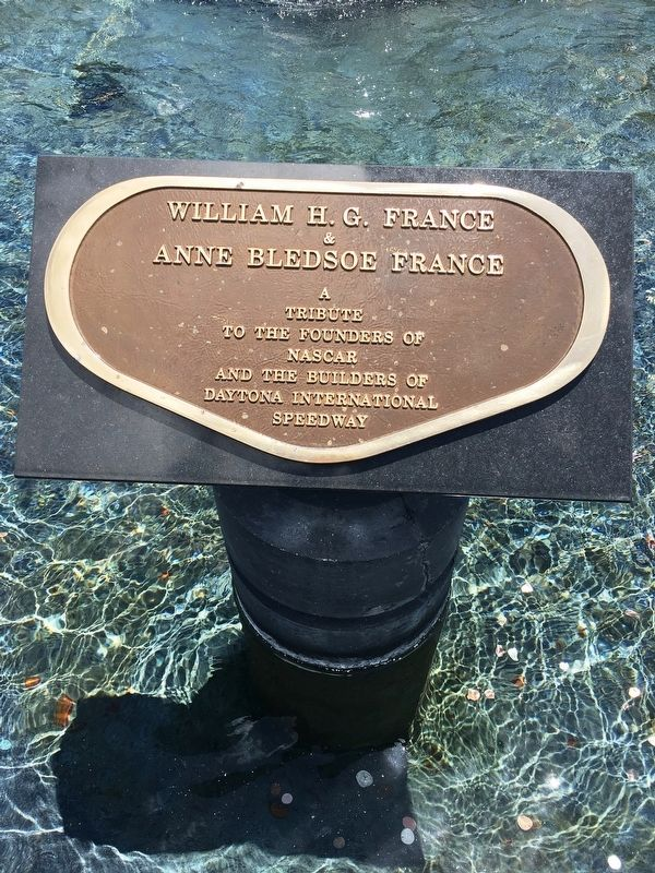 William H. G. France & Anne Bledsoe France Marker image. Click for full size.