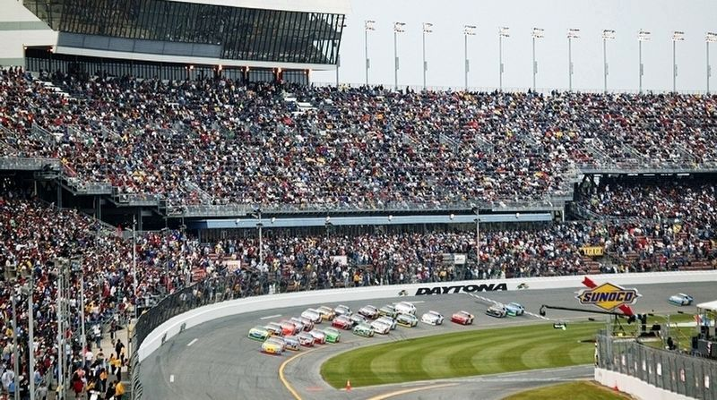 Daytona Speedway Turn 1 image. Click for full size.