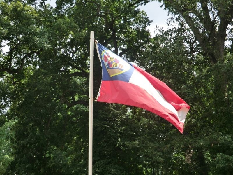 Confederate Hill-Maryland Confederate Flag image. Click for full size.