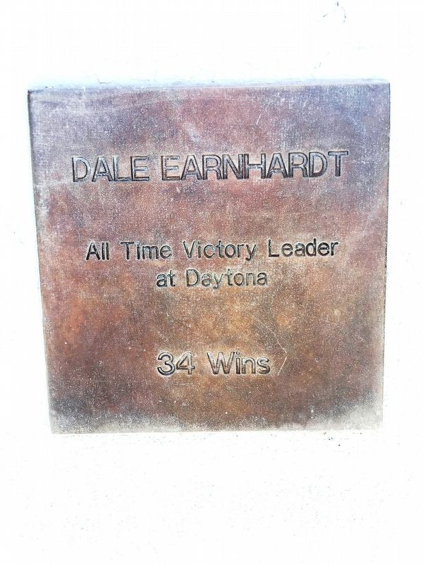 Dale Earnhardt Marker image. Click for full size.