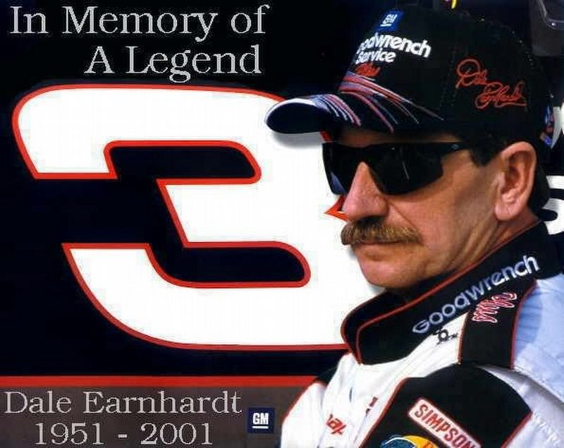 Dale Earnhardt image. Click for full size.