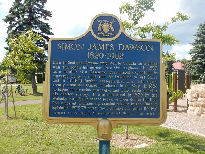 Simon James Dawson Marker image. Click for full size.