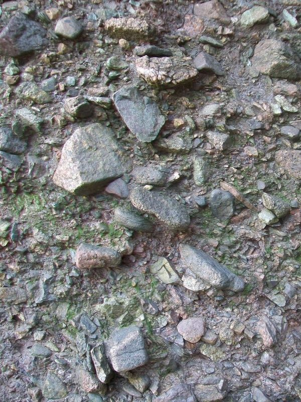 Conglomerate Detail Near Base of Rock Formations image. Click for full size.