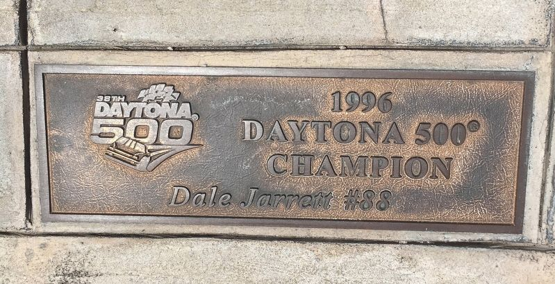 Daytona 500 1996 Winner Marker image. Click for full size.