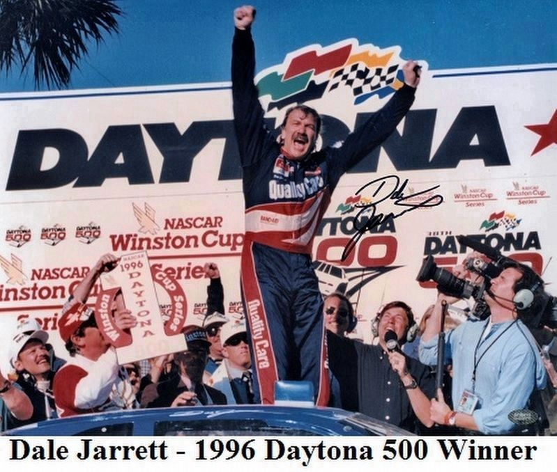 1996 Daytona 500 Walk of Fame Champion image. Click for full size.