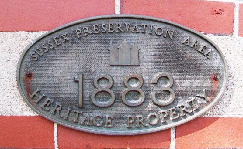 Dominion Building Heritage Property Marker image. Click for full size.