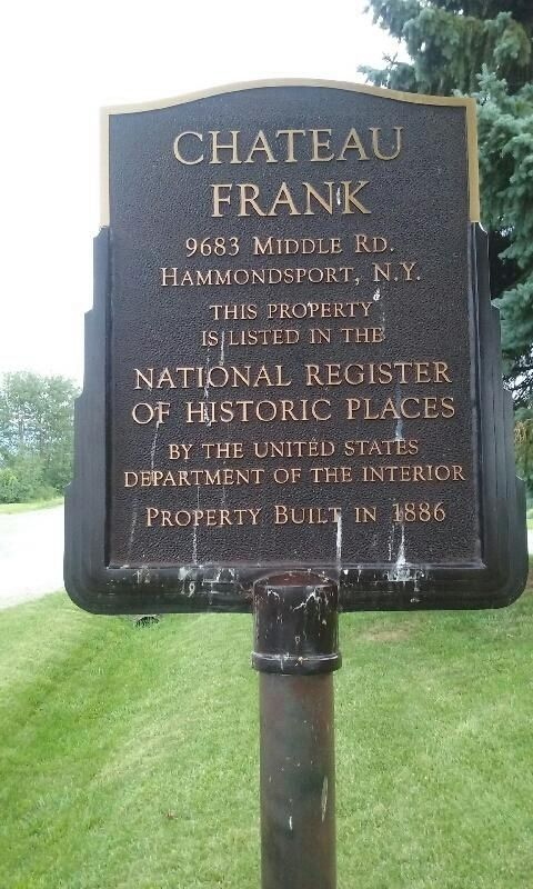 Chateau Frank Marker image. Click for full size.