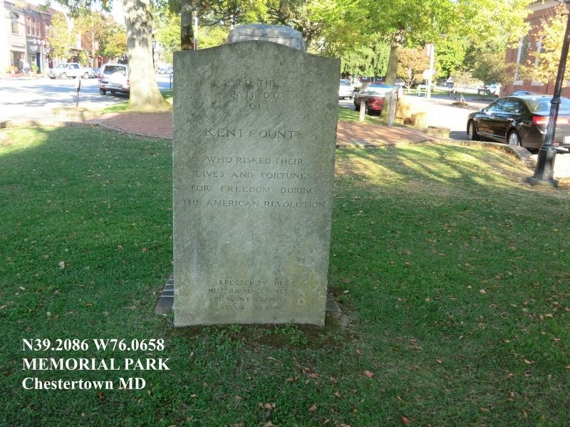 American Revolution Memorial Marker image. Click for full size.