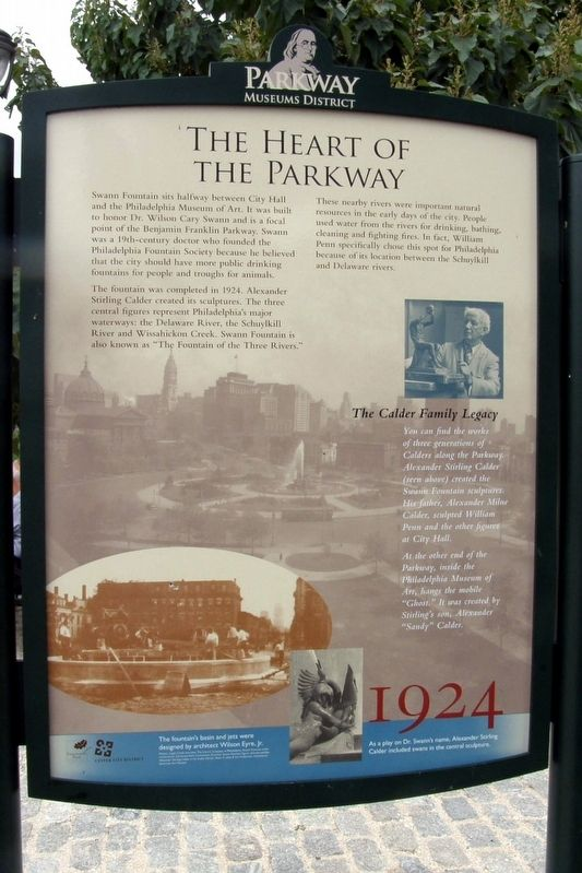 The Heart of the Parkway Marker image. Click for full size.