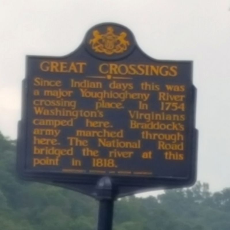 Great Crossings Marker image. Click for full size.
