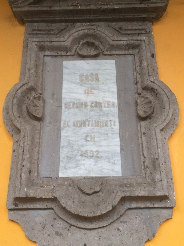 House of Hernán Cortés Marker image. Click for full size.