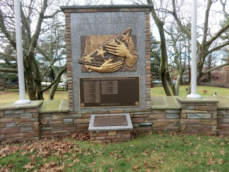 Memorial to Marylanders-Liberation of Kuwait Marker image. Click for full size.