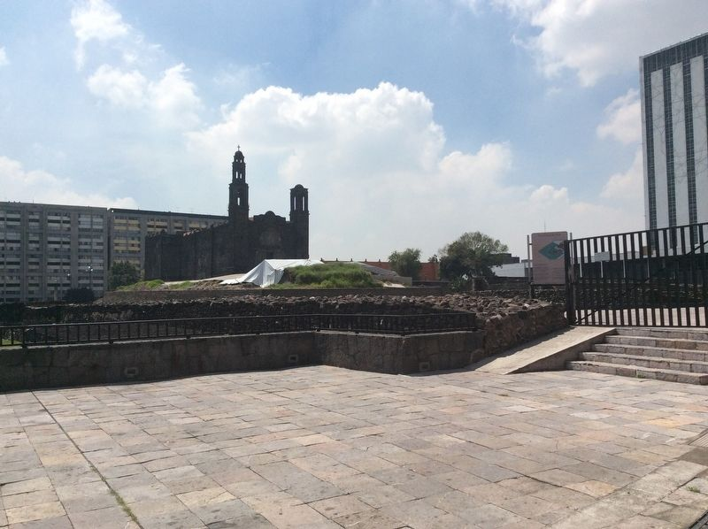 Tlatelolco Marker image. Click for full size.