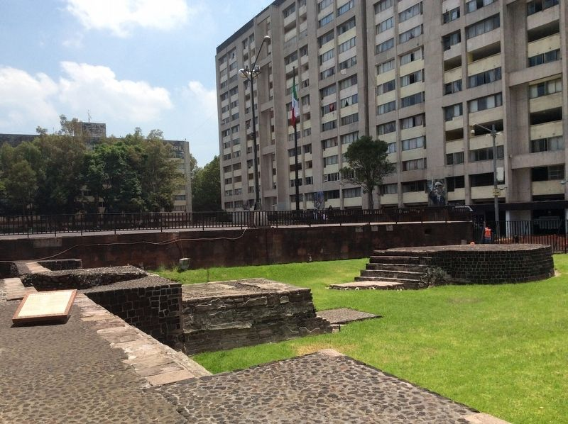 The Small Area of Tlatelolco and Marker image. Click for full size.