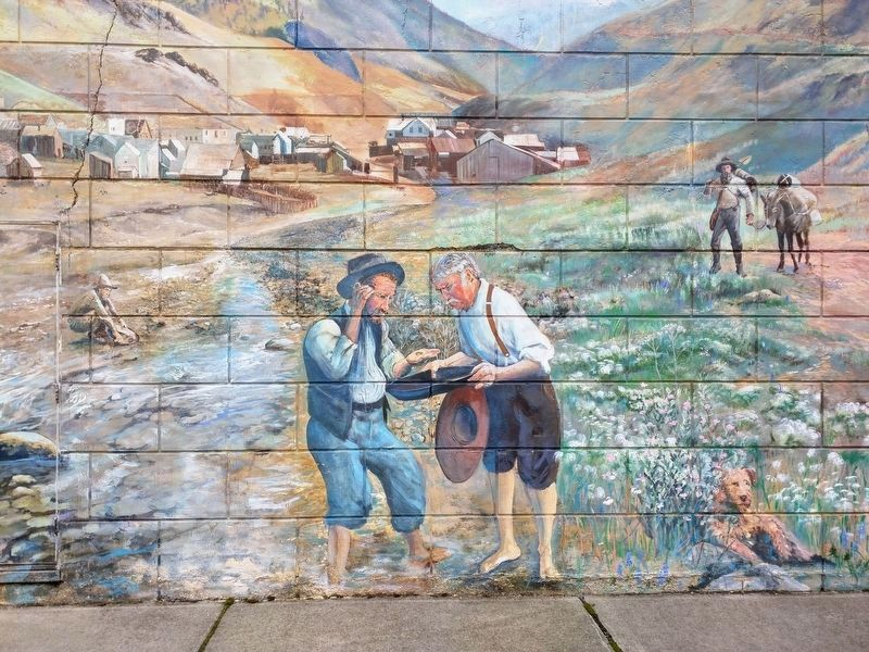 Canyon City Mural image. Click for full size.