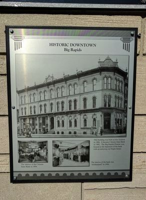 Historic Downtown Marker image. Click for full size.
