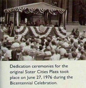 Insert - Dedication ceremonies, 1976 image. Click for full size.