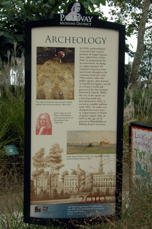 Archeology Marker image. Click for full size.