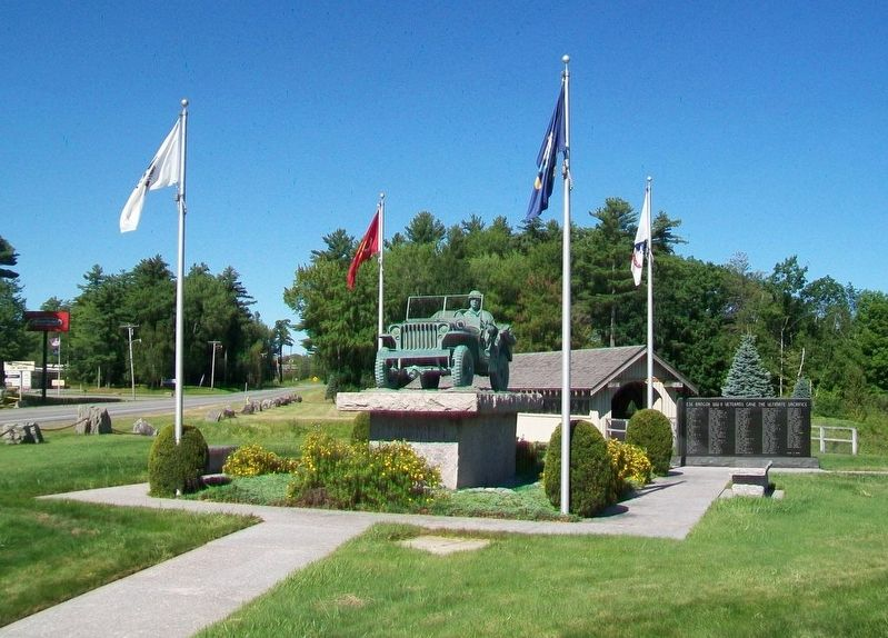 Bangor World War II Honored Dead Memorial image. Click for full size.