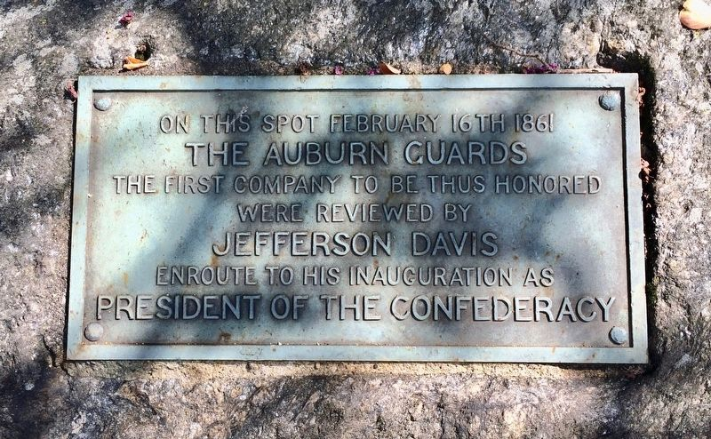The Auburn Guards Marker image. Click for full size.