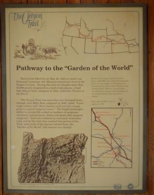 """Pathway to the ""Garden of the World"" image. Click for full size."