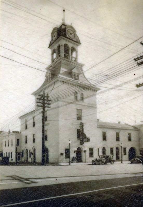 Hagerstown City Hall (1818-1939), circa 1930 image. Click for full size.