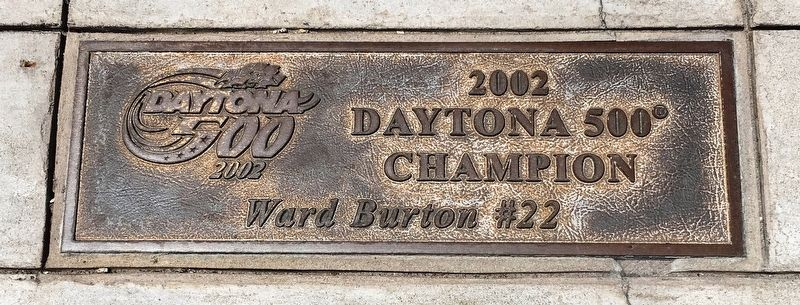 Daytona 500 2002 Marker image. Click for full size.