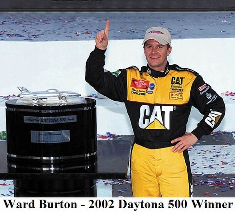 2002 Daytona 500 Walk of Fame Champion image. Click for full size.