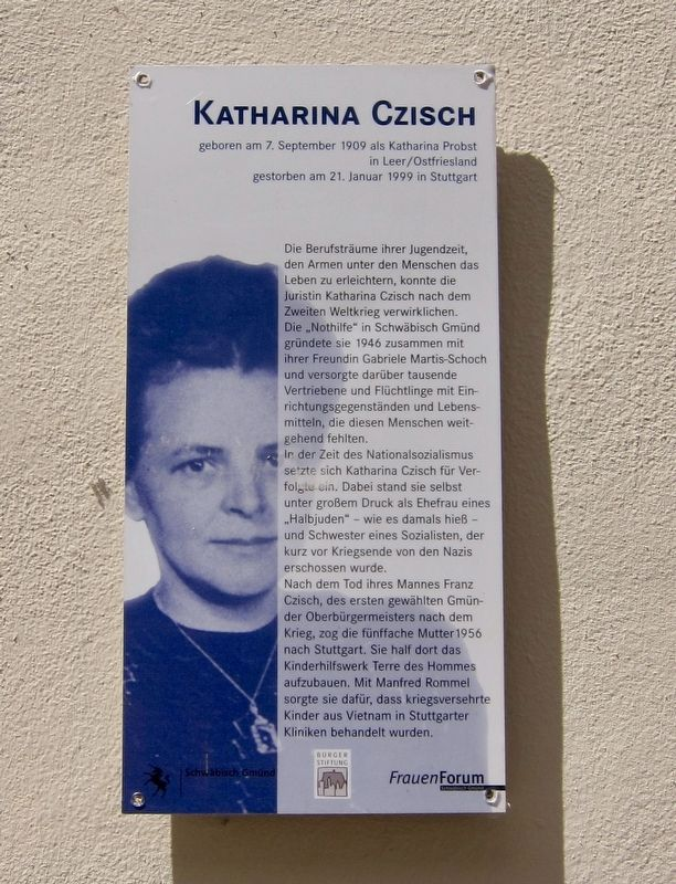 Katharina Czisch Marker image. Click for full size.