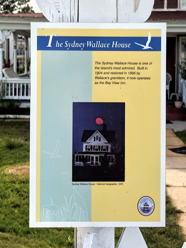 The Sydney Wallace House Marker image. Click for full size.