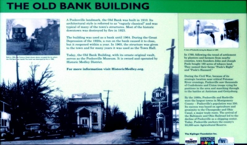 The Old Bank Building Marker image. Click for full size.