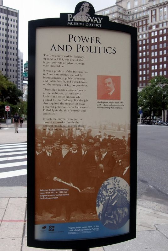 Power And Politics Marker image. Click for full size.