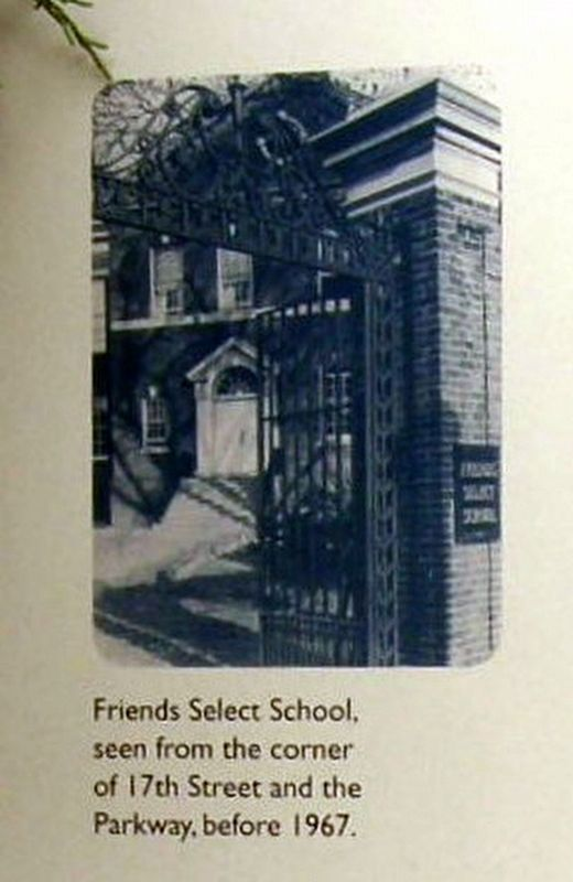 Insert - Friends Select School image. Click for full size.