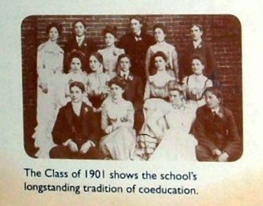 Insert - Class of 1901 image. Click for full size.