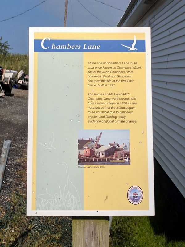 Chambers Lane Marker image. Click for full size.