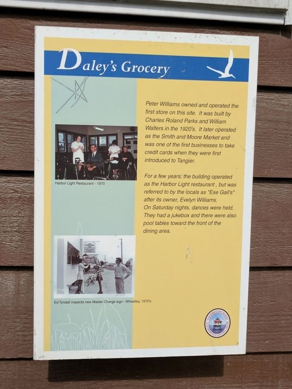 Daley's Grocery Marker image. Click for full size.