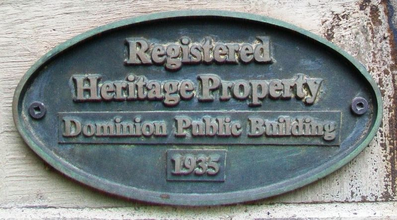 Dominion Public Building Marker image. Click for full size.